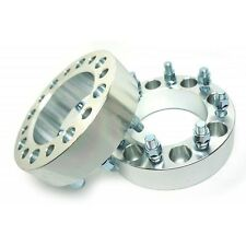 2 Pcs 50MM 2 Inch CNC Wheel Spacers 8X6.5 To 8X6.5 126 CB 14X1.5 For Chevrolet
