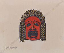 "Gottlieb Theodor Kempf von Hartenkampf (1871-1964) ""Design"", Gouache, ca.1900"