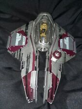Star Wars Revenge of the Sith Obi Wan Kenobi's Jedi Starfighter Hasbro 2006