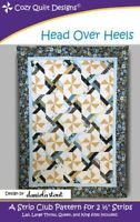 Head Over Heels quilt pattern by Cozy Quilt Designs