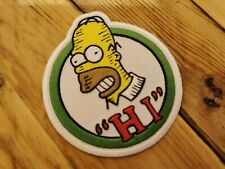 The Simpsons Patch - Iron or Sew On Embroidered Patch Homer Corporate Logo Band