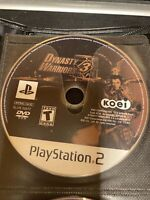Dynasty Warriors 3 Playstation 2 PS2 Video Game Disc Only Arcade No Case