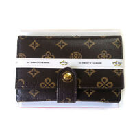 NEW Brown Luxury Women's Wallet ID Card Wallet purse