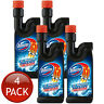 4 x DOMESTOS DRAIN CLEANER 15 MINUTE SINK AND PIPE UNBLOCKER DISINFECTANT 500mL