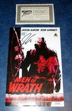 MEN OF WRATH #1 signed 1st print JASON AARON ICON marvel COMIC 2014 NM COA HOT