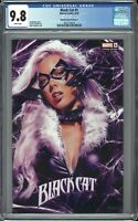 Black Cat #1 CGC 9.8 Mike MAYHEW Trade VARIANT Amazing Spider-Man