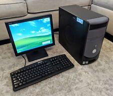 Vintage Dell Dimension 4700 PC w/ LCD - Pentium 4 3GHz 2GB RAM 40GB HD Win XP