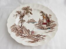 "VINTAGE JOHNSON BROS MADE IN ENGLAND THE OLD MILL 10"" PLATE"