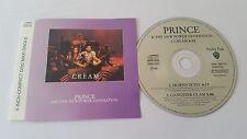 """PRINCE """"CREAM""""  3trk EU CD 1991"""