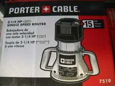 Porter Cable 7519 3-1/4 Peak HP Router 21,000 RPM 15 AMP Speedmatic New