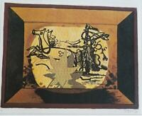 """George Braque  """" The Varnished Chariot """" Mounted off-set Lithograph 1973"""