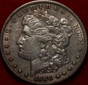 1888-S San Francisco Mint Silver Morgan Dollar