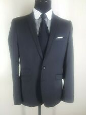 Tiger of Sweden Recent 100% Wool Gray  Suit 2 Btn Side Vents  40 Reg