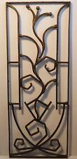 Außergewöhnliches ART-DECO Fenstergitter - handgeschmiedet - um 1920