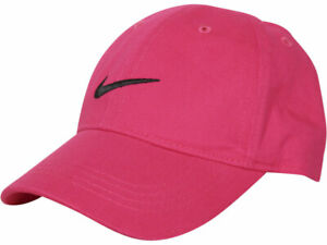 Nike Infant Boy's Embroidered Swoosh Logo Cotton Baseball Cap Sz: 12/24 M
