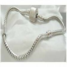JSC  - 21cm European Euro Bead Starter Charm Bracelet