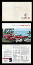 Original 1960 Buick ad  - Portfolio of Fine Cars - Electra Invicta LeSabre  W4