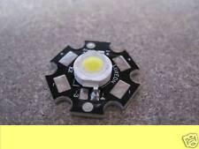 3w 3watt LED BIANCO CALDO ALTA POTENZA 120 LUMEN BIANCO CALDO 3000K LUXEON