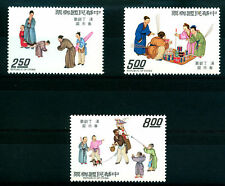CHINA - CINA - 1975 - NEW YEAR FESTIVAL  - 3 VALUES
