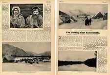 Ausflug nach Petropawlowsk Kamtschatka Baron Binder C. von Krieglstein v. 1906