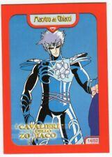 figurina CARD I CAVALIERI DELLO ZODIACO YAMATO 2000 NEW n 14 MAESTRO DEI GHIACCI