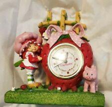 Rare Strawberry Shortcake 2002 Clock