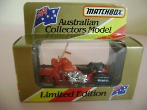 AUSTRALIAN COLLECTORS MODEL LIMITED EDITION 762463 SA  AUSTRALIAN POST MOTOCYCLE