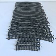 Lima Black N/330 R 360 Curved Railway Track 25 Lengths