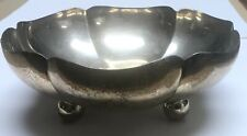Mexico - Taxco Footed Candy Bowl - 263 Grams of Sterling Silver - 7.82oz ASW
