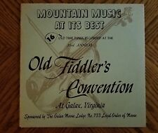 VARIOUS / 33rd ANNUAL OLD TIME FIDDLER'S CONVENTION 1968 ~ Galax Virginia ~ MINT