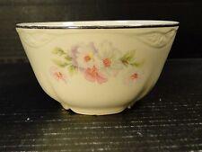 Homer Laughlin Virginia Rose Fluffy Rose Cranberry Oatmeal Bowl