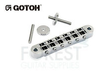 GOTOH Guitar TOM Bridge GE103B Chrome, T stud mount  ABR-1 style