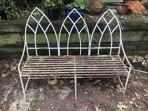 Regency Strapwork Garden Bench