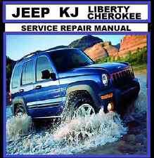 JEEP CHEROKEE-LIBERTY KJ series 2002-2007 2.4L 2.5L 2.8L 3.7L Workshop Repair CD
