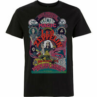 Led Zeppelin Full Colour Electric Magic Official Merch T-Shirt M/L/XL - Neu