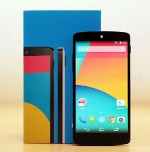 Google LG Nexus 5 Original Unlocked Quad Core 5.0 Inch 2GB RAM 16GB Black Color.