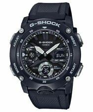 Casio G-Shock GA2000 Front Button A/D Metal Black/Silver Men's Watch GA2000S-1A