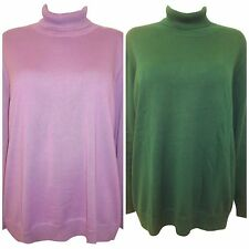 Cotton Polo Neck None Jumpers & Cardigans for Women