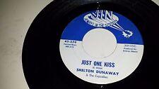 "SHELTON DUNAWAY Honey Hush / Just One Kiss JIN 250 SOUL ROCKER 45 7"""