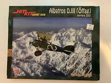 Hit Kit Short Run 1/72 Albatross D.III (Öffag) Series 253 Model Kit