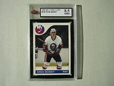 1985/86 O-PEE-CHEE NHL HOCKEY CARD #130 MIKE BOSSY KSA 8.5 NM/MT+ 85/86 OPC