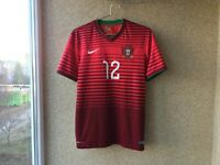 Portugal Home football shirt 2014/2016 Jersey M Nike Soccer Camiseta