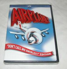 "Airplane DVD, 2005, ""Dont Call Me Shirley"" Edition/ Widescreen Free Shipping USA"