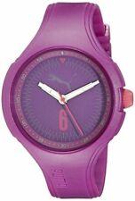 PUMA Women's PU911201006 Wave - Purple Analog Display Quartz Watch