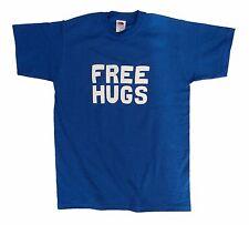 Free Hugs funny men's or unisex cotton T shirt