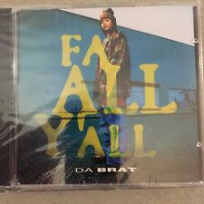 DA BRAT Fa All Y'all 3 Track REMIX & EXTENDED CLUB MIX CD single 1994 Sealed