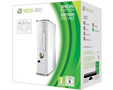 Microsoft Xbox 360 -  Konsole Slim Edition 4GB, JTAG RGH fähig, Weiss ( NEU OVP)