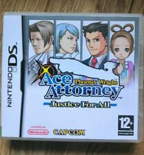 Phoenix Wright Ace Attorney - Justice for All -  DS Game - Genuine UK Pal