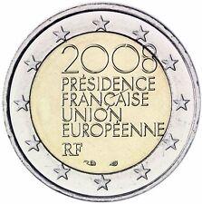 Francia 2 euro moneta Ue-Presidenza 2008 moneta commemorativa memorizzare freschi