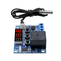 WX-101W DC12V Intelligent Digital LED Temperature Controller Thermostat Switch